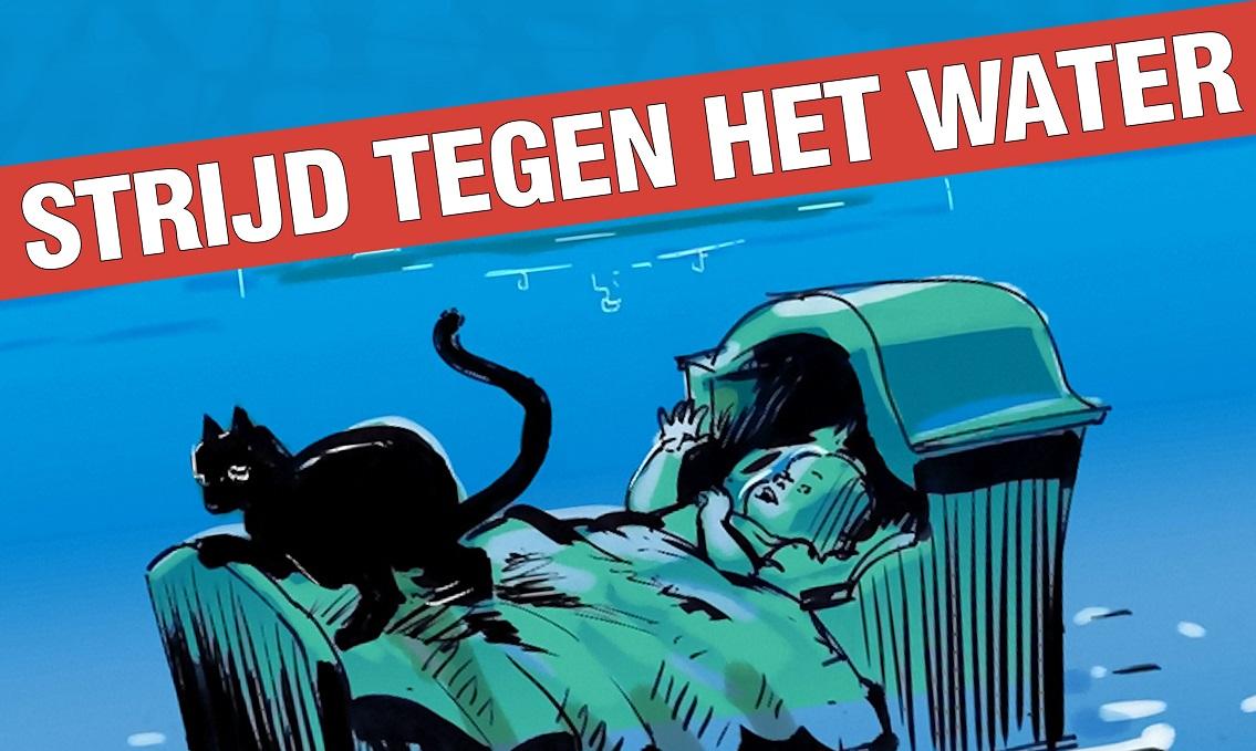 Poster Strijd Tegen Het Water