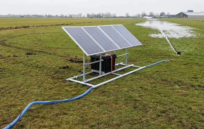 Plasdraspomp Op Zonne Energie