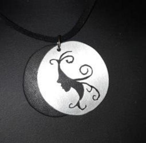 Zilveren silhouet hangers maken
