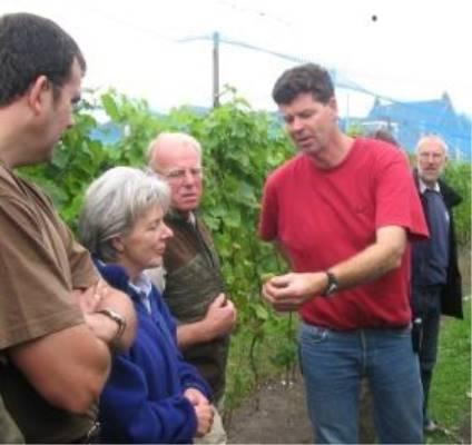 Open dag wijngaard Chateau du Tets 2020