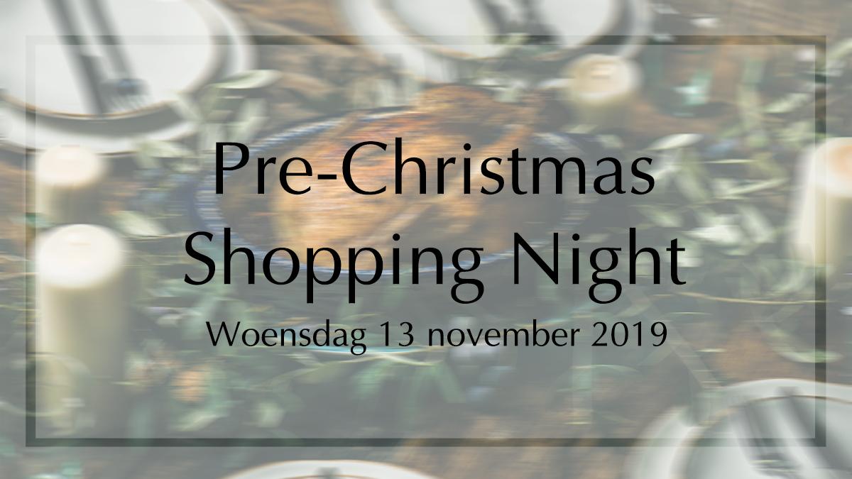 Graanbuurt: Pre-Christmas Shopping Night