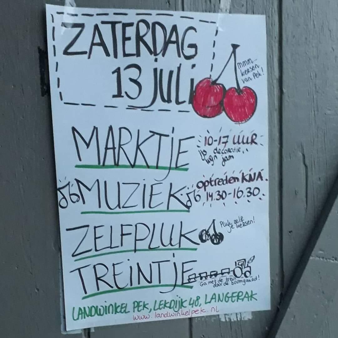 Marktje Bij Landwinkel Pek