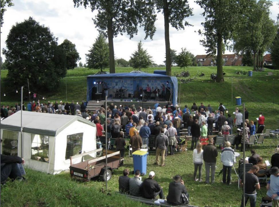 Nieuwpoort Open Sky - openlucht kerkdienst