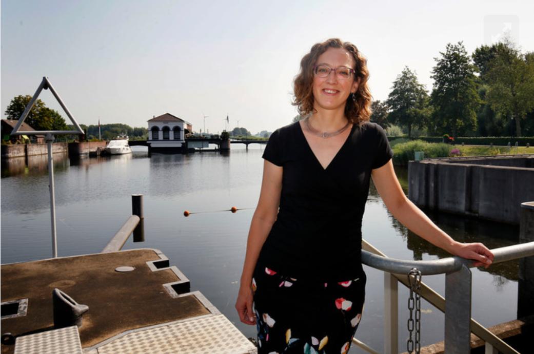 Ellen Vonk, Programmamanager Bij Waterschap Rivierenland.