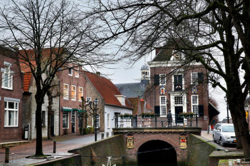 Artikel AD: Stadhuis In Vestingstadje Nieuwpoort Maanden Dicht Voor Verbouwing