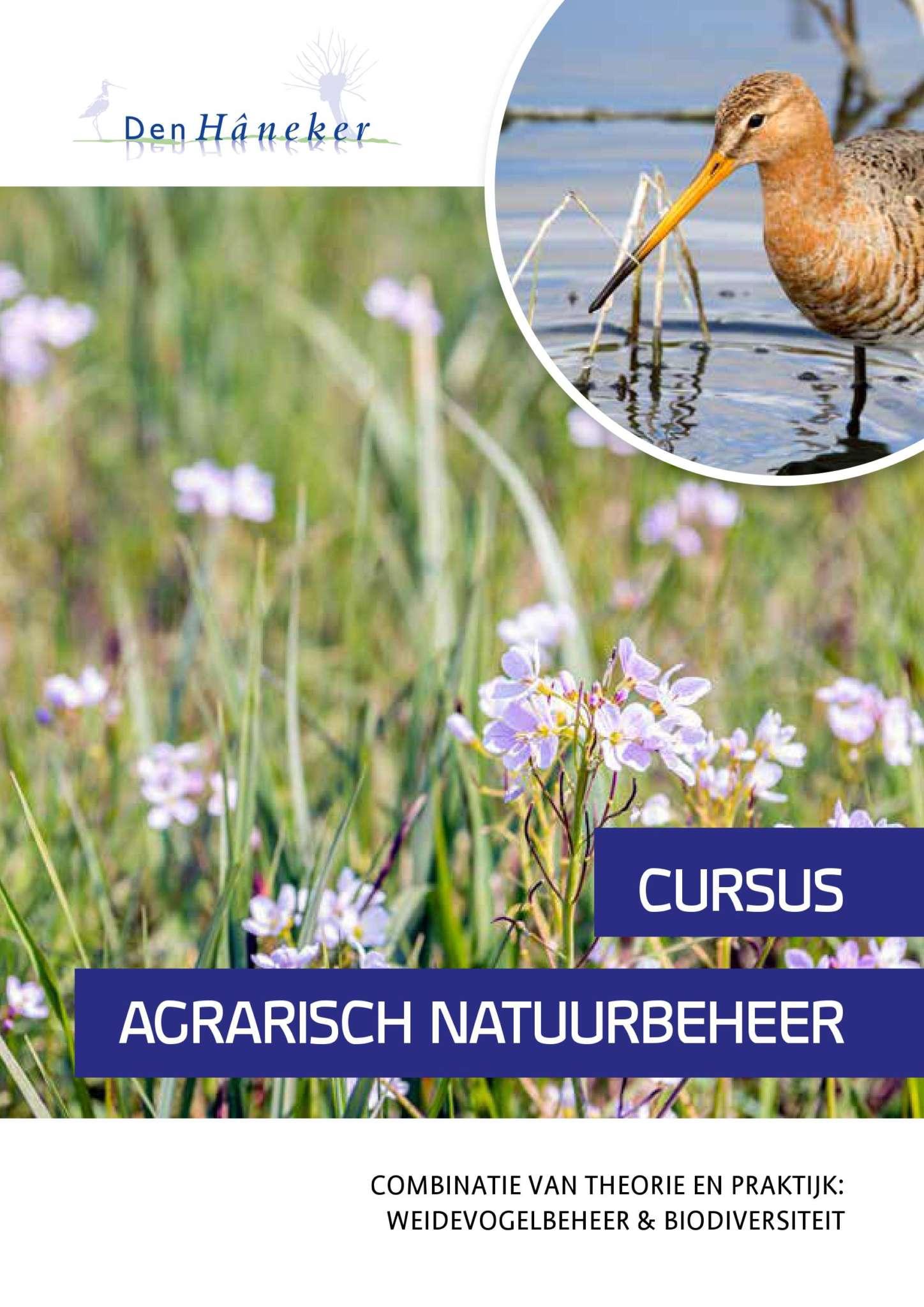Flyer Cursus Agrarisch Natuurbeheer