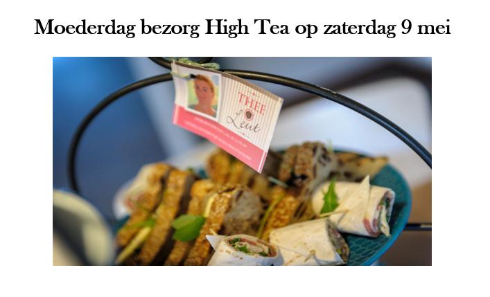 Moederdag Bezorg High Tea – Thee & Leut