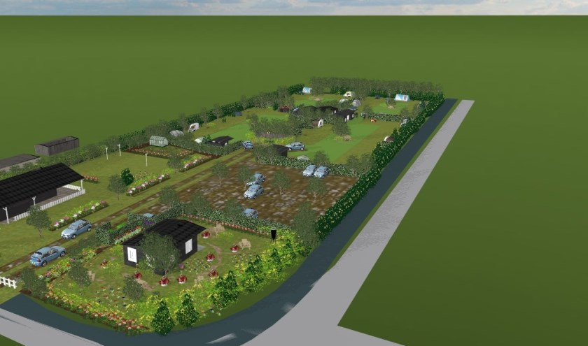 Crowdfunding Nieuwe Camping Groot Ammers – Artist Impression