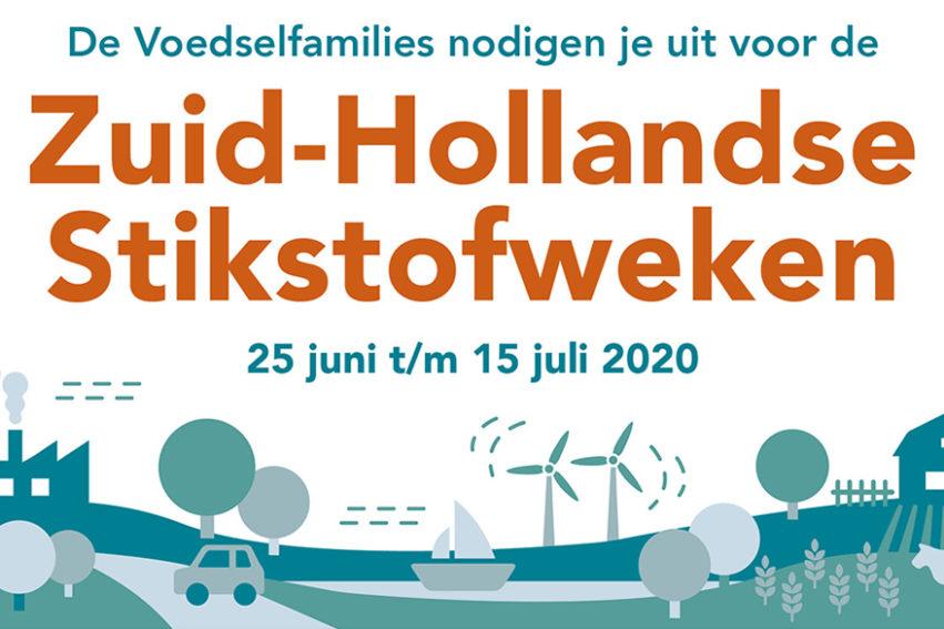 Persbericht: Doe Mee Met De Zuid-Hollandse Stikstofweken!